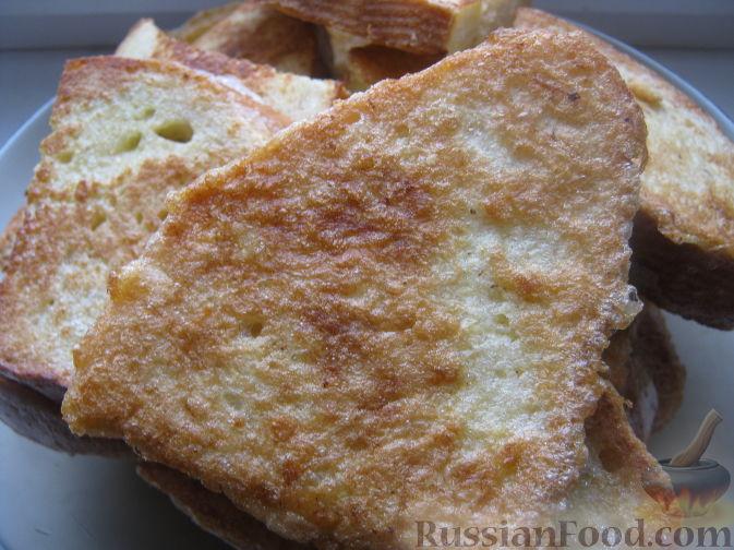 Рецепт Гренки сырные