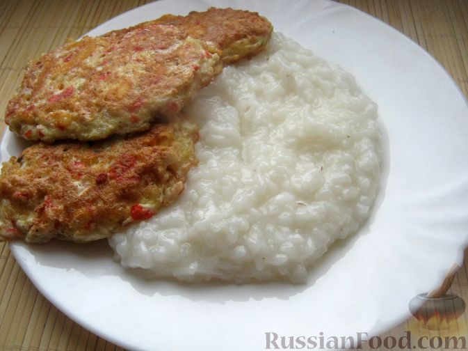 Рецепт Оладушки из крабовых палочек