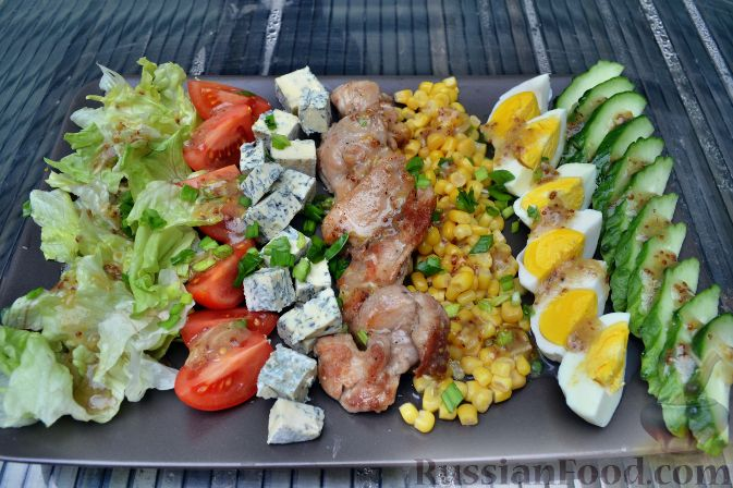 Рецепт Кобб-салат