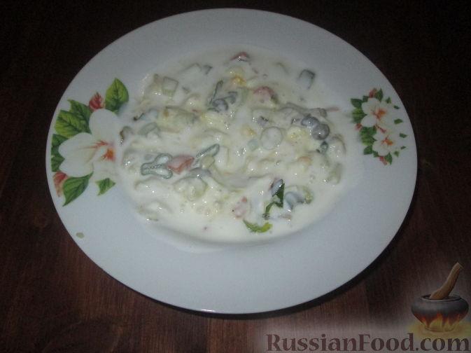 Рецепт Холодный суп на кефире