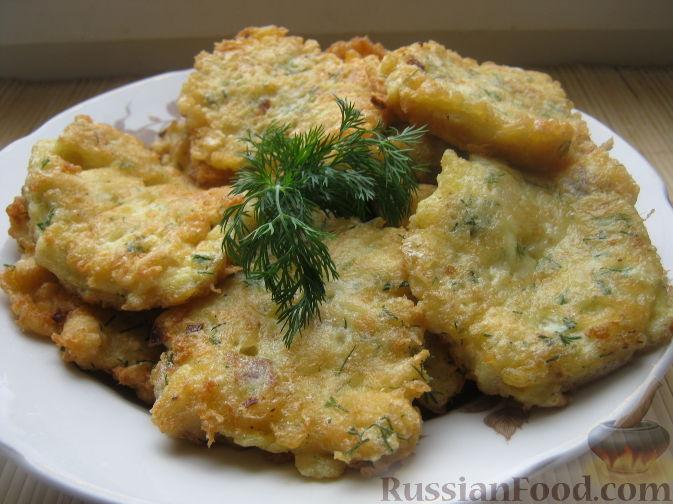 Рецепт Оладьи из рыбного филе