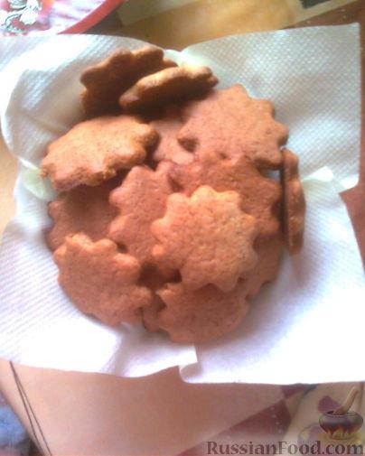 Рецепт Имбирное печенье-объеденье