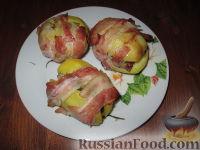 """Фото к рецепту: Картофельные """"ларчики с сюрпризом"""""""