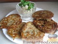 Фото к рецепту: Драники с грибами