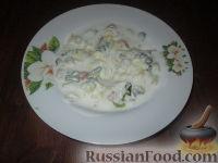 Фото к рецепту: Холодный суп на кефире