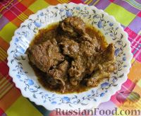 Фото к рецепту: Мясо со специями Ачар гошт (Achar Gosht)