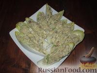 Фото к рецепту: Закуска из консервированной рыбы и артишоков