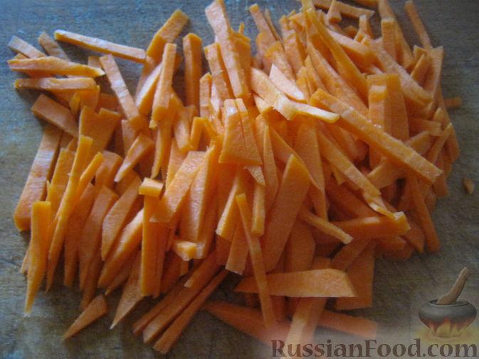 Фото приготовления рецепта: Постный рассольник с грибами - шаг №1
