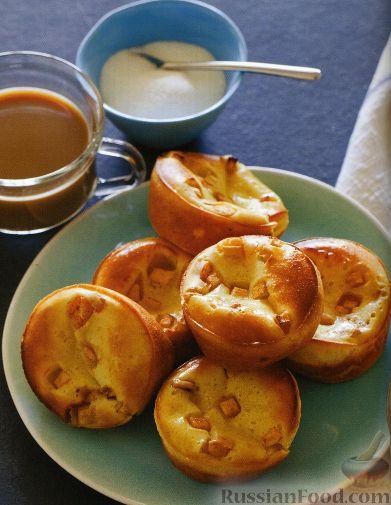 Рецепт Яблочные пончики по-немецки