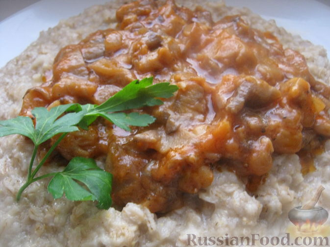 Рецепт Грибы в томатном соусе