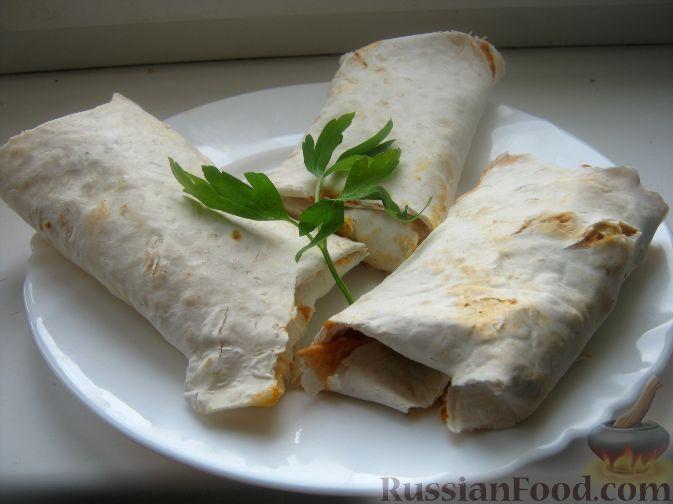 Рецепт Лаваш с овощами