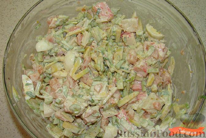 салат огурец помидор и авокадо рецепт