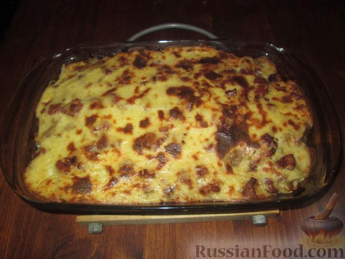 Рецепт Запеканка из картофеля и лука-порея