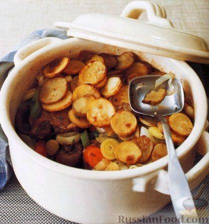 Рецепт Баранина, запеченная с овощами
