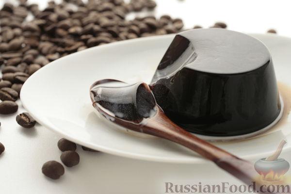 Рецепт Желе кофейное