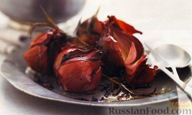 Рецепт Запеченный красный лук