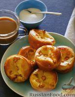 Фото к рецепту: Яблочные пончики по-немецки