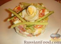 Фото к рецепту: Салат Оливье (домашний)