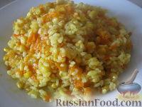 Фото к рецепту: Плов постный овощной