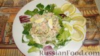 Фото к рецепту: Салат из крабовых палочек и авокадо