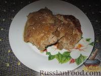 Фото к рецепту: Свинина, тушенная в яблочном соусе