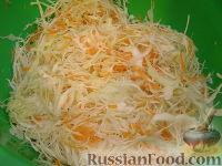 Фото приготовления рецепта: Белокочанная квашеная капуста трехдневка - шаг №5