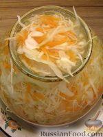 Фото приготовления рецепта: Белокочанная квашеная капуста трехдневка - шаг №9