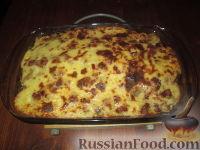 Фото к рецепту: Запеканка из картофеля и лука-порея