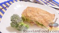 Фото к рецепту: Куриное филе с брокколи