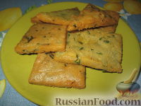 Фото к рецепту: Лепешки из нутовой муки (Panelle)