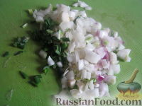Фото приготовления рецепта: Лобио с грецкими орехами - шаг №4