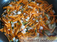 Фото приготовления рецепта: Лобио с грецкими орехами - шаг №7