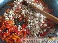 Фото приготовления рецепта: Лобио с грецкими орехами - шаг №13