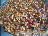 Фото приготовления рецепта: Лобио с грецкими орехами - шаг №16