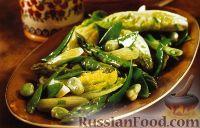 Фото к рецепту: Горячий овощной салат