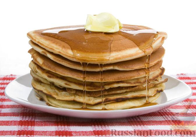 Рецепт Блинчики по Американски (pancakes)