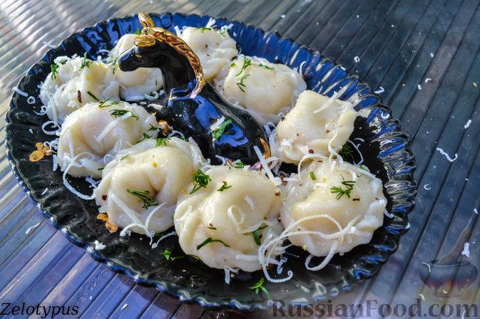 Рецепт Пельмени с рыбой и сыром