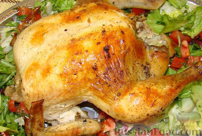 Рецепт Курица в рукаве