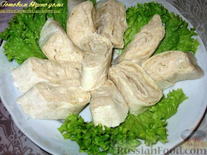 Рецепт Паштет из белой фасоли в лаваше