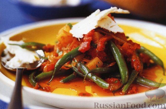 Рецепт Соте с картофелем и стручковой фасолью