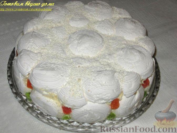 Рецепт Зефирный торт