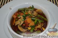 Фото к рецепту: Суп с овощами
