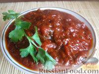 Фото к рецепту: Кетчуп из томатной пасты