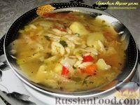 Фото к рецепту: Постный овощной суп