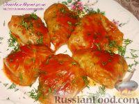 Фото к рецепту: Карпатские голубцы с дерунами, фасолью и грибами