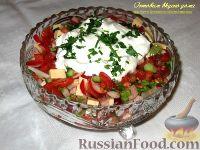 Фото к рецепту: Словенский салат