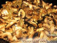 Фото приготовления рецепта: Курица, фаршированная картофелем и грибами - шаг №4
