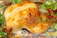 Фото к рецепту: Курица в рукаве
