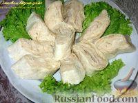 Фото к рецепту: Паштет из белой фасоли в лаваше