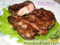 Фото к рецепту: Запеченная свиная грудинка